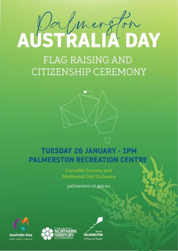 Australia Day: Flag Raising and Citizenship Ceremony